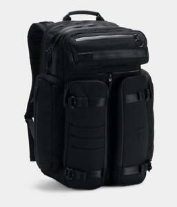 Under Armour UA x Project Rock Arrivals Series Backpack Back Pack Bag Blackout
