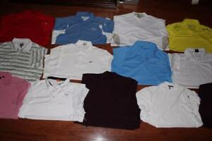 LOT OF 13 NIKE FIT DRY ADULT MENS GOLF POLO SHIRTS DRI-FIT ADIDAS CALLAWAY XL