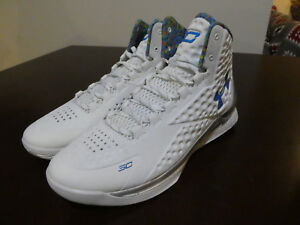 UNDER ARMOUR Curry 1 Championship Pack Splash Party 1287487 100 new  size 16