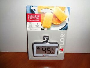 Taylor Digital Food Service Refrigerator Freezer Thermometer Min Max Temperature $12.50