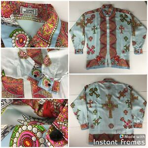 14 Shirts Vintage Gianni Versace  Versace Sport  Silk  Cotton used