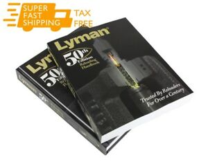 Lyman 50th Edition Reloading Manual Softcover New