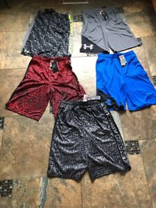 Lot Of New Boys Under Armour Shorts-size X-large