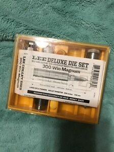 Lee Precision * DELUXE 3 Die Set for 300 Win Magnum   # 90616  *  New!