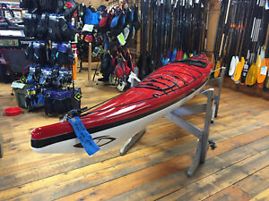 Current Designs 2015 Equinox GT RedSmoke Rudder Touring Kayak Made with Kevlar