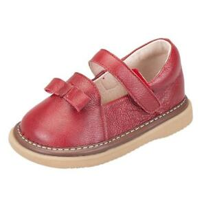 AjayR Baby Boys Girls Cowhide Toddler Shoes Cute Soft Mary Jane Flats Leather