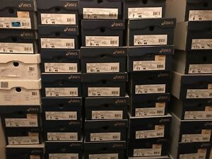 Wholesale Asics men'swoman's sneaker assortment 60 pair . [ASICS] FREE SHIPPING
