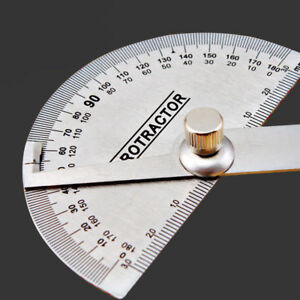 180 degree Protractor Angle Finder Arm Rotary Measuring Ruler Stainless Steel $6.07