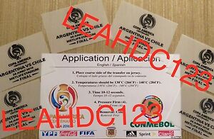 Copa America Centenario 2016 Final Match Details 100% AUTHENTIC