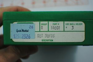 RCBS Reloading Dies 30-06 Part No. 14801 Full Length Sizing Die and shell holder