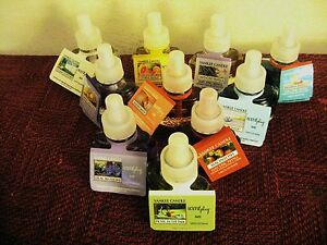 YANKEE CANDLE PLUG IN OIL REFILLS -YOU CHOOSE - DISCOUNT ON 2 OR MORE -FREE SHIP