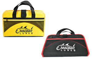 Custom 25 Pocket Protective Jig Bag Trolling Jig Storage by MagBay Lures