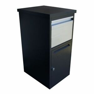 Large Delivery Drop Box Online Shopping Secure Parcel Chute Locker 3-Way Locking