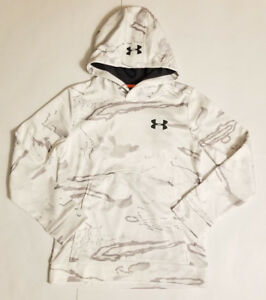 NWT Under Armour Storm 1 Ridge Reaper Snow Boys Long Sleeve Hoodie Size Medium
