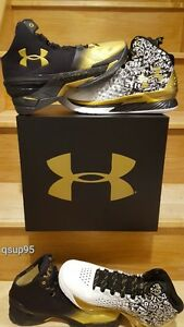 Under Armour UA Curry MVP 2 Back to Back Collection Pack 1300015 001 Men Sz 8-13