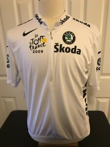 NIKE SKODA Tour De France Cycle shirt XL Fit Dry See Pics And Description Womens