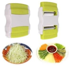 Vegetable Slicer Kitchen Chopper Tool Fruit Grater Cutter Carrot Peeler Dicer