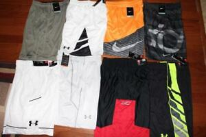 LOT 8 NIKE & UNDER ARMOUR MENS ATHLETIC SHORTS KD DAGGER UA CURRY SMALL $250 NWT