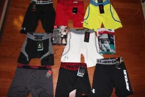 LOT OF 14 MENS UNDER ARMOUR NIKE COMPRESSION SHORTS BOXERJOCK BOXER BRIEFS SMALL