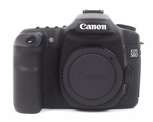 Canon EOS 50D 15.1 MP Digital SLR Camera - Black (Body Only) 28K Shutter