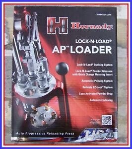 HORNADY LOCK N LOAD AUTOMATIC PRESS  RELOADING W POWDER MEASURE AUTO PRIME
