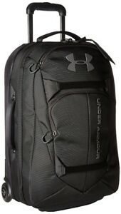 Rolling Airline Carry-on Luggage Under Armour Nylon Travel Bag Suitcase Duffel