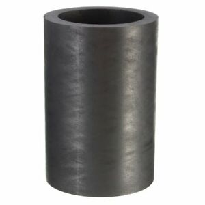 40X60mm 25 OZ Graphite Crucible Cup Ingot Bar Combo Mold For Silver Gold