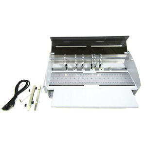 220V Book Cover Creasing Machine Electric Card Folding Paper Dotted Line Cutter