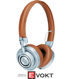 MASTER & DYNAMIC MH30 On-Ear Headphones Headset Function Brown  Silver