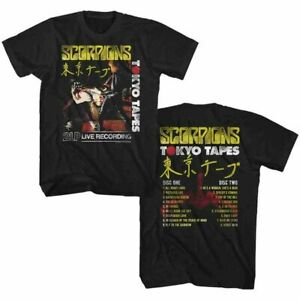 SCORPIONS Men's Short Sleeve T-Shirt BLACK TOKYO TAPES