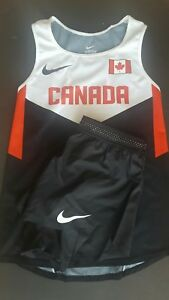 Nike Pro Elite Team Canada Womens Singlet and shorts Size XS Track and Field
