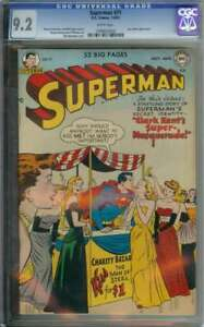 SUPERMAN #71 CGC 9.2 WHITE PAGES