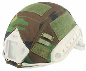 Tactical Paintball Shooting Combat Fast Helmet Cover Multicam Jungle camouflage