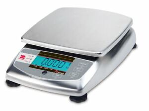 OHAUS FD6H 6000g 0.2g FOOD PORTIONING COMPACT BENCH SCALE 2YR WARRANTY