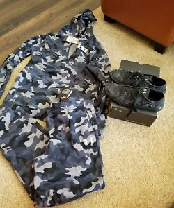 Under Armour Youth Boys Size XL loose fit Jogger PantsHoodie Camo