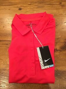 Women's Nike Golf Polo Dry Fit Short Sleeve Shirt - Size Extra Small XS