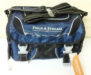 Field & Stream Angler Fishing Lures Tackle Carry Bag w 3 Large Storage Boxes