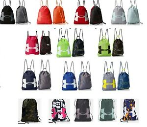 Under Armour Ozsee Sackpack Sport Gym Bag Backpack Drawstring Variety Of Colors