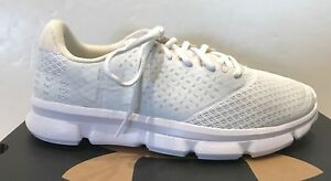 UNDER ARMOUR Micro G Speed Swift 2 Men's Running Shoes NWD White $49.99