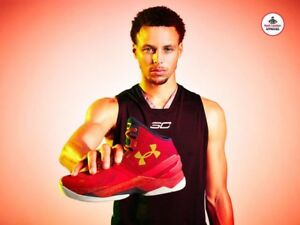 Under Armour Curry Two 2 USA OLYMPIC GOLD Red Navy White CNY Chinese New Year 12
