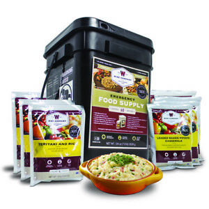 Wise Food Company Emergency Freeze Dried Entree Bucket - 60 Serving