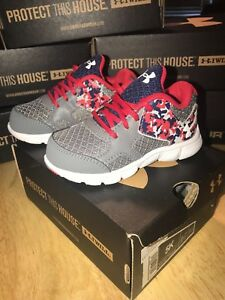Boys Under Armour Running Shoes Brand New With Box. You Choose Size.