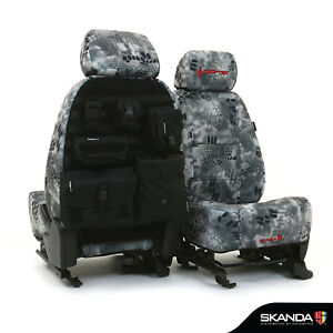 Skanda Kryptek Raid Camo Neosupreme Tactical Custom Seat Covers for Ram Truck