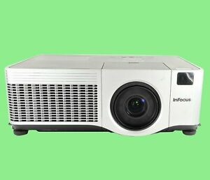 InFocus IN42 LCD Projector 3500 ANSI HD 1080i HDMI wAdapter Remote TeKswamp