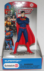 Superman Standing Justice League Figure New in Box Schleich 22506 $6.99