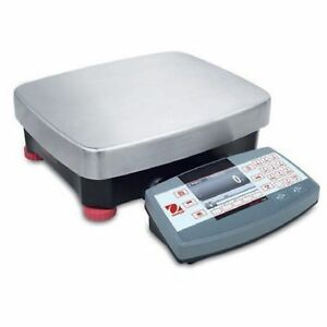 Ohaus R71mhd15 Die CastStainless Steel Ranger 7000 Compact Bench Scale 15  ...