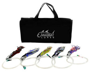 5 PACK FULLY RIGGED TUNA JET HEAD 9