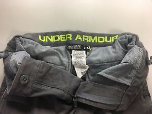 Under Armour Youth Boys Utility Club Golf Pants Size YMD Gray