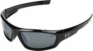 Under Armour  Power Shiny Black Frame  Gray Polarized W Multiflection Lens