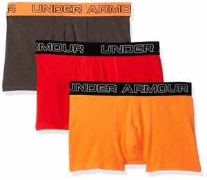 """Under Armour Men's Charged Cotton Stretch 3"""" Boxerjock – 3-Pack"""